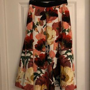 White House Black Market Full Midi Skirt